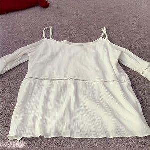 White quarter sleeve